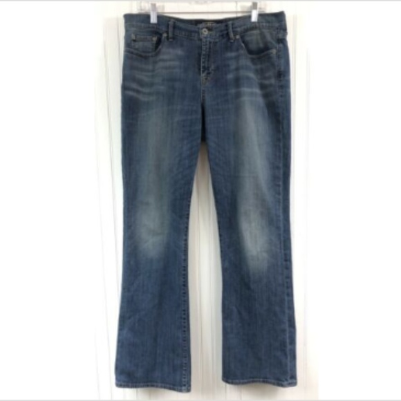 318d6b67f49 Lucky Brand Denim - Lucky Brand Sweet N Low Boot Cut Jeans 14/32 Blue